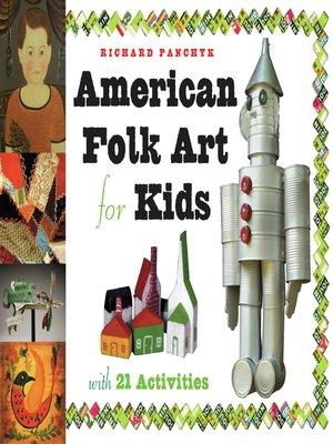 cover image of American Folk Art for Kids