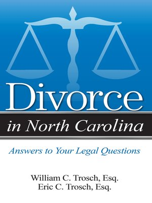 cover image of Divorce in North Carolina