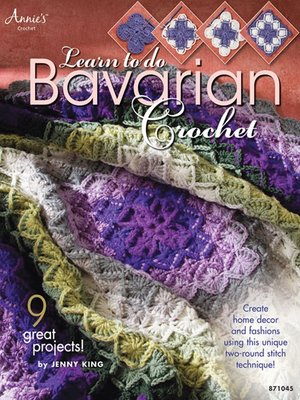 cover image of Learn to Do Bavarian Crochet