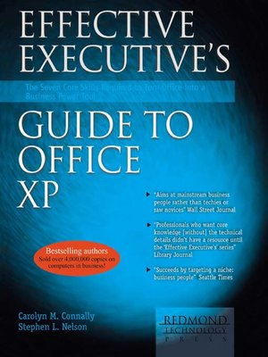 cover image of Effective Executive's Guide to Office XP