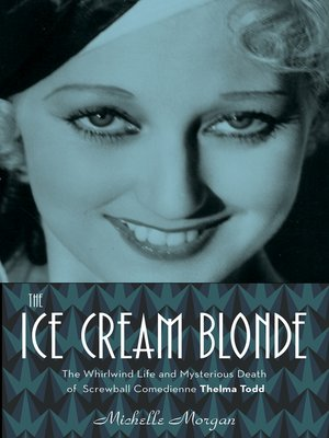 cover image of The Ice Cream Blonde