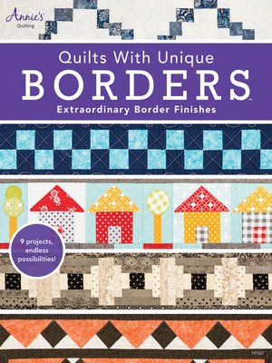 cover image of Quilts with Unique Borders