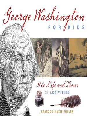 cover image of George Washington for Kids