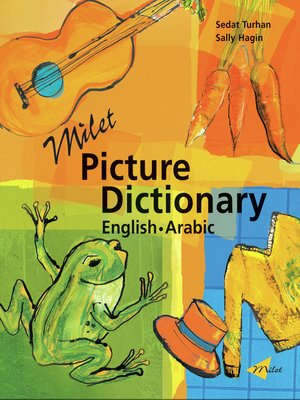 cover image of Milet Picture Dictionary (English–Arabic)
