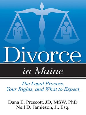 cover image of Divorce in Maine