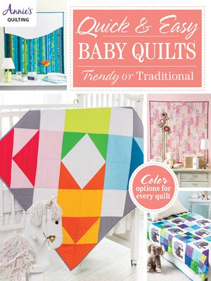 cover image of Quick & Easy Baby Quilts