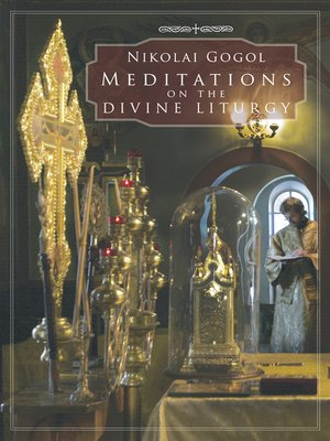 cover image of Meditations on the Divine Liturgy