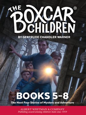cover image of The Boxcar Children Mysteries Boxed Set, Books 5-8