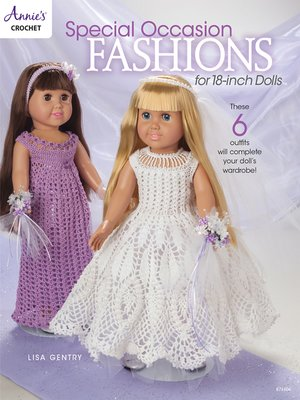 cover image of Special Occasion Fashions for 18-inch Dolls