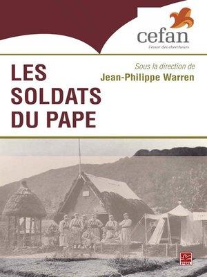 cover image of Les Soldats du Pape