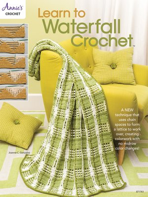 cover image of Learn to Waterfall Crochet