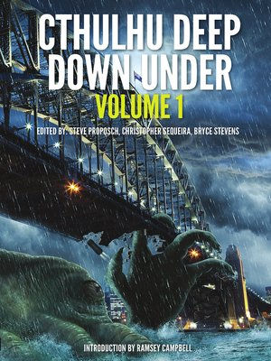 cover image of Cthulhu Deep Down Under, Volume 1