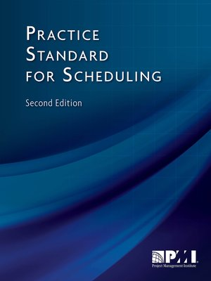 cover image of Practice Standard for Scheduling