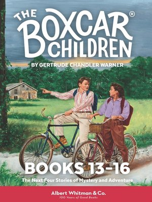 cover image of The Boxcar Children Mysteries Boxed Set, Books 13-16