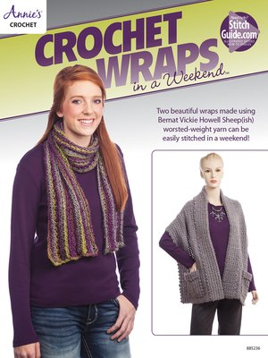 cover image of Crochet Wraps in a Weekend