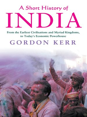 cover image of A a Short History of India