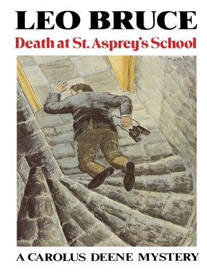 cover image of Death at St. Asprey's School