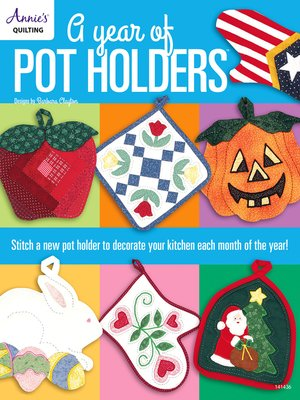 cover image of A Year of Pot Holders