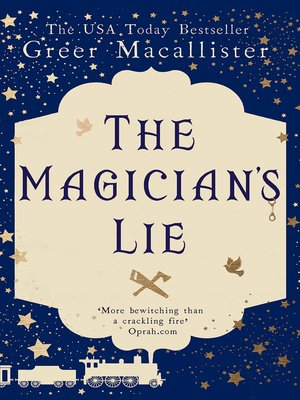 cover image of The Magician's Lie