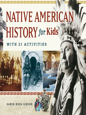 cover image of Native American History for Kids