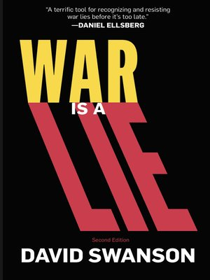 cover image of War Is a Lie