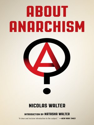 cover image of About Anarchism