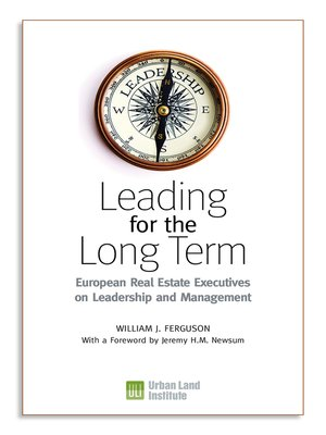 cover image of Leading for the Long Term