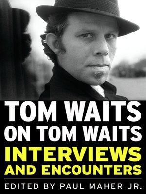 cover image of Tom Waits on Tom Waits