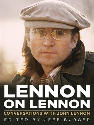 cover image of Lennon on Lennon