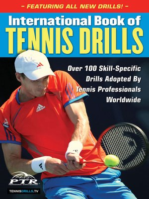cover image of International Book of Tennis Drills