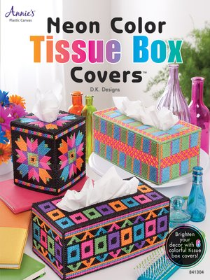 cover image of Neon Color Tissue Box Covers