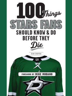 cover image of 100 Things Stars Fans Should Know & Do Before They Die