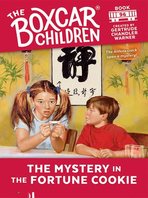 cover image of The Mystery in the Fortune Cookie