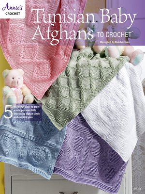 cover image of Tunisian Baby Afghans to Crochet