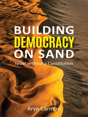 cover image of Building Democracy on Sand
