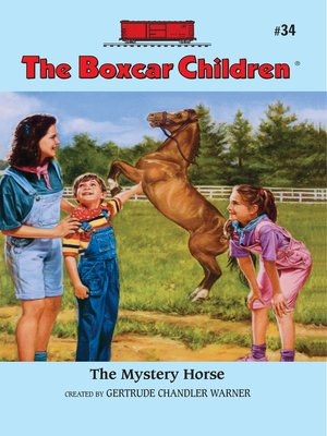 cover image of The Mystery Horse
