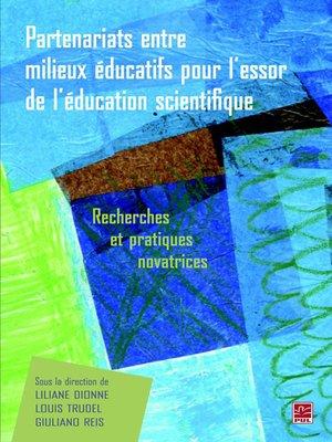 cover image of Partenariats entre milieux éducarifs pour l'essor de...