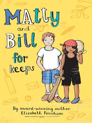 cover image of Matty and Bill for Keeps