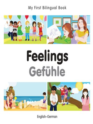 cover image of My First Bilingual Book–Feelings (English–German)