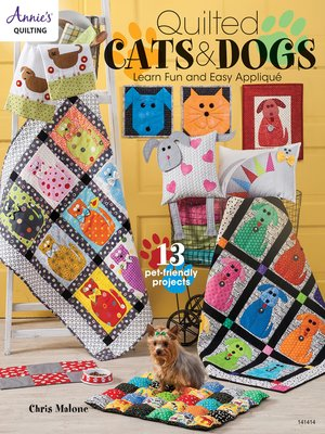 cover image of Quilted Cats & Dogs