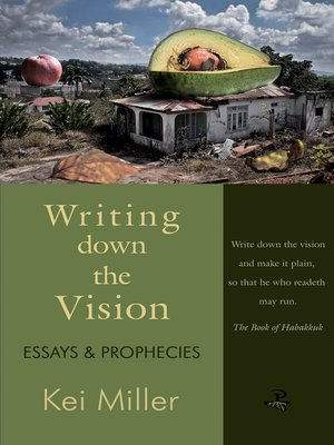 cover image of Writing Down the Vision