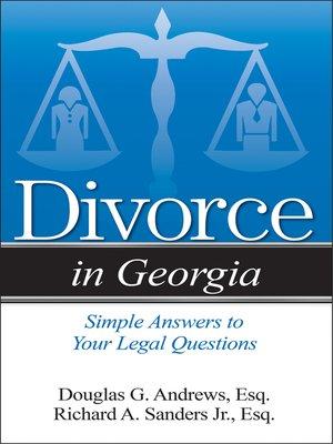 cover image of Divorce in Georgia