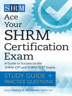 cover image of Ace Your SHRM Certification Exam