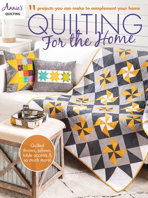 cover image of Quilting for the Home