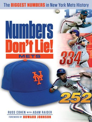 cover image of Mets: The Biggest Numbers in Mets History
