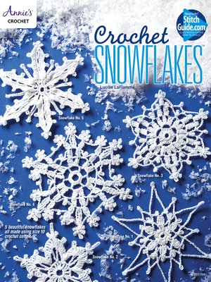 cover image of Crochet Snowflakes