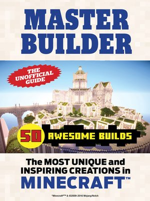 cover image of Master Builder 50 Awesome Builds