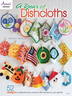 cover image of A Year of Dishcloths
