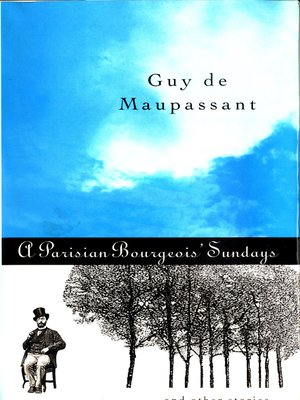 cover image of A Parisian Bourgeois' Sunday and Other Stories
