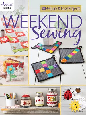 cover image of Weekend Sewing